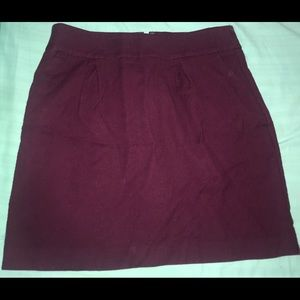 LOFT Skirts - Loft purple pocket skirt